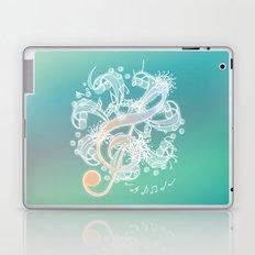 Music Notes - Crystal Laptop & iPad Skin