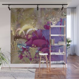 Feelings of being in love -- Fractal illustration Wall Mural