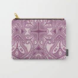 paisley dagger in bordeaux Carry-All Pouch