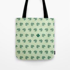 Lucky Clover Pattern Tote Bag