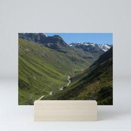 Flüela Pass Mini Art Print