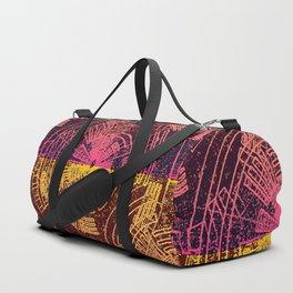 Contours Line Map Duffle Bag