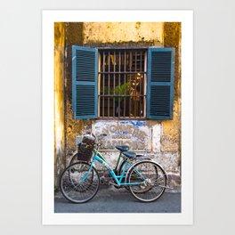 Savonnerie and Bicycles, Hoi An Ancient Town, Vietnam Art Print