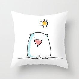 Beary Throw Pillow