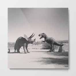 Dinos on The Road Metal Print