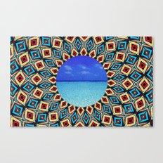 mandala sea Canvas Print