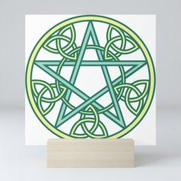Celtic Pentacle Mini Art Print