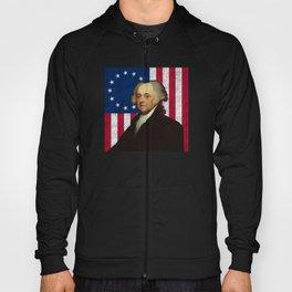 John Adams and The American Flag Hoody