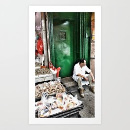 Chinatown NYC-Series1 Art Print