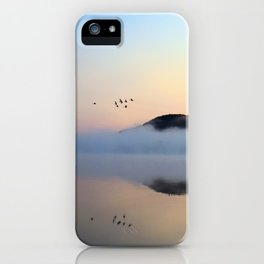 Enlightenment: Sunrise on Lake George iPhone Case