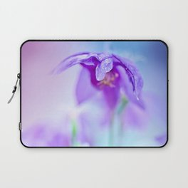 Violet flowers Laptop Sleeve