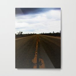 Deserted Road Metal Print