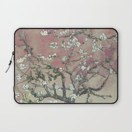 Almond Blossom - Vincent Van Gogh (pink pastel and cream) Laptop Sleeve