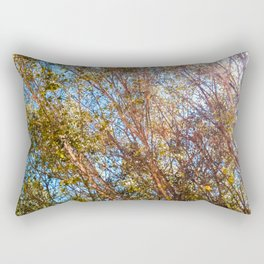 Trees and Flare Rectangular Pillow