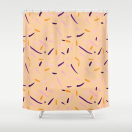 100s and 1000s Shower Curtain