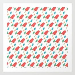 Paletas Pattern Art Print