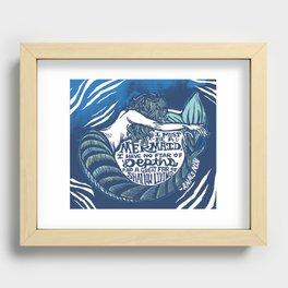 Anais Nin Mermaid Depths Recessed Framed Print