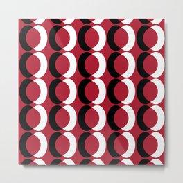 Seamless Geometric Pattern IV Metal Print