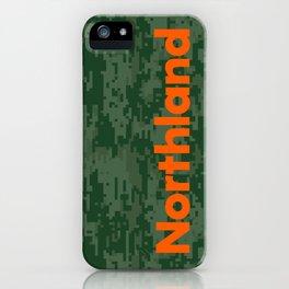 Northland Camo iPhone Case