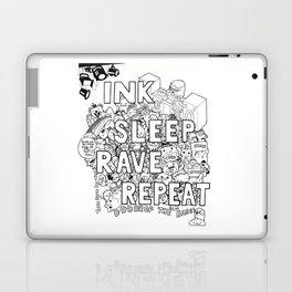 Ink Sleep Rave Repeat Laptop & iPad Skin