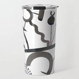 Abstract Botanica - 1 Travel Mug