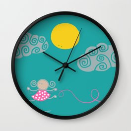 Jumping into now Wall Clock
