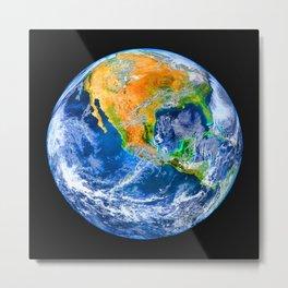 Earth Metal Print