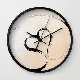 Heart Infinity Wall Clock