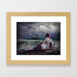 My Jolly Sailor Bold Framed Art Print
