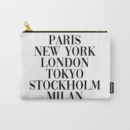 cities Carry-All Pouch