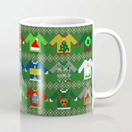 The Ugly 'Ugly Christmas Sweaters' Sweater Design Coffee Mug