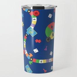 Board Game Pattern Travel Mug