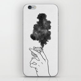 Burning mind. iPhone Skin