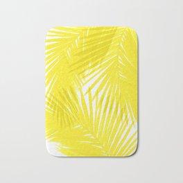 Palms Yellow Bath Mat