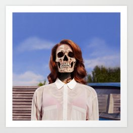 Bones To Die Art Print
