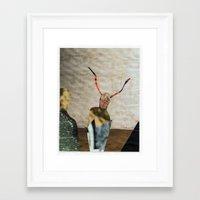 fig Framed Art Prints featuring fig by edoardo de falchi