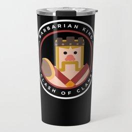 Barbarian King Travel Mug