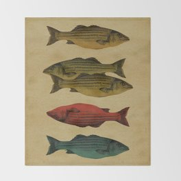 One fish Two fish... Throw Blanket