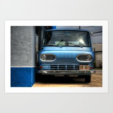 'Ford Falcon Club Wagon' Art Print