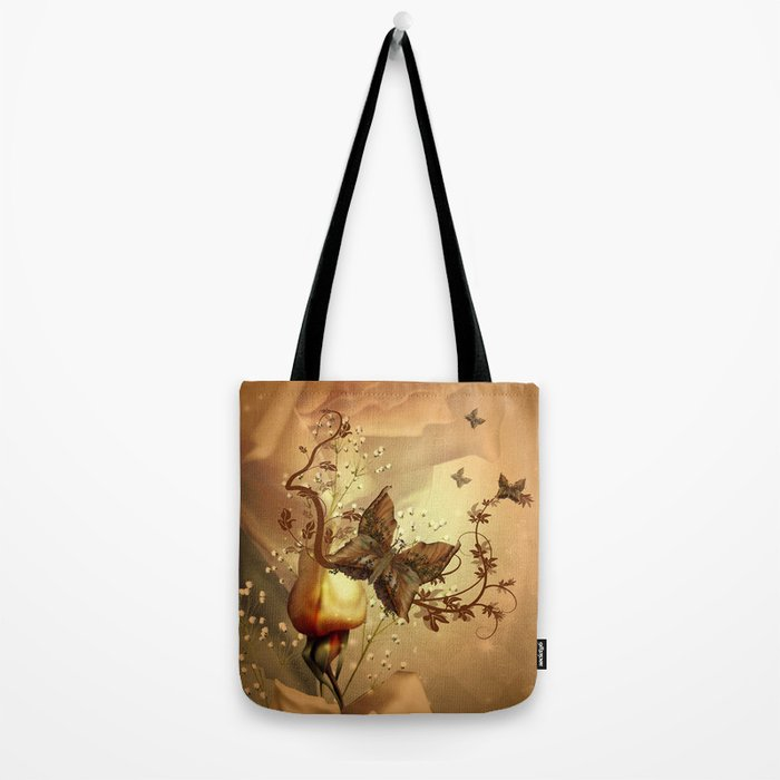 Wonderful fantasy butterflies Tote Bag