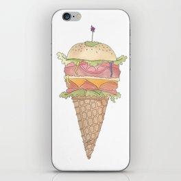 Burger Dreamin' iPhone Skin