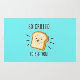 Cheesy Greetings! Rug