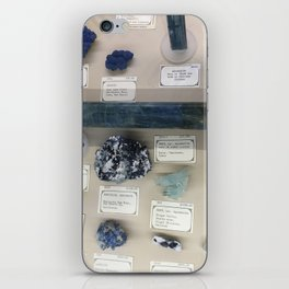 Blue gems iPhone Skin