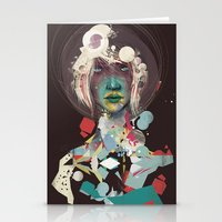 broken Stationery Cards featuring broken by Thiago Souto