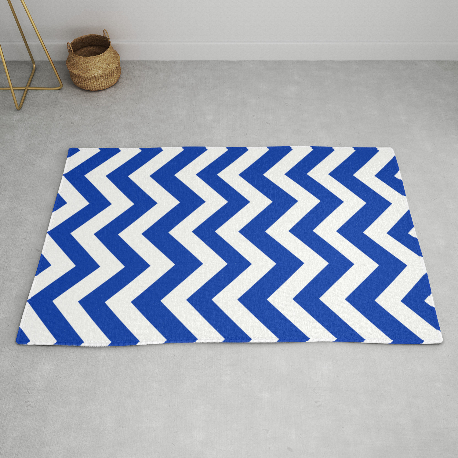 UA blue - blue color - Zigzag Chevron