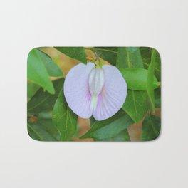 Purple Buttefly-Pea Flower Bath Mat