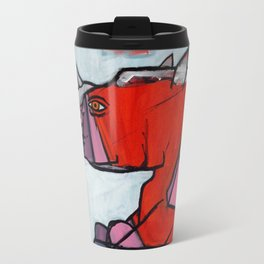 Contemplating Collective Consciousness by Amos Duggan 2013 Travel Mug