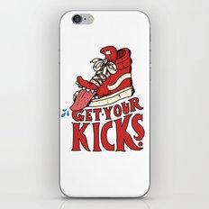 Get Your Kicks iPhone & iPod Skin