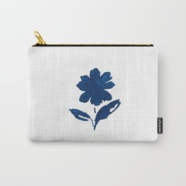Indigo Shadow Bloom - Blossoms 3 Carry-All Pouch