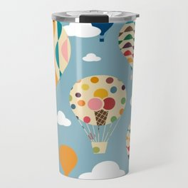 hot air ballon Travel Mug